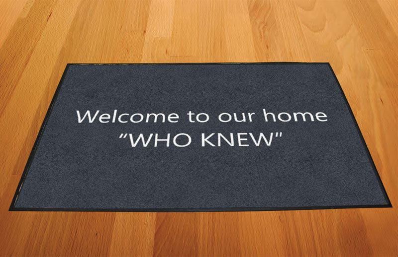 Amy atwood 2 X 3 Rubber Backed Carpeted HD - The Personalized Doormats Company