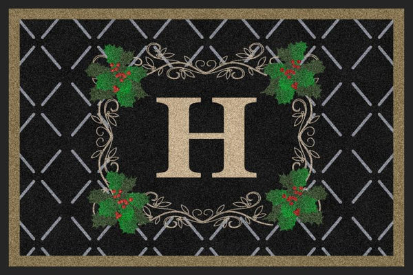 Holiday Ivy Doormat