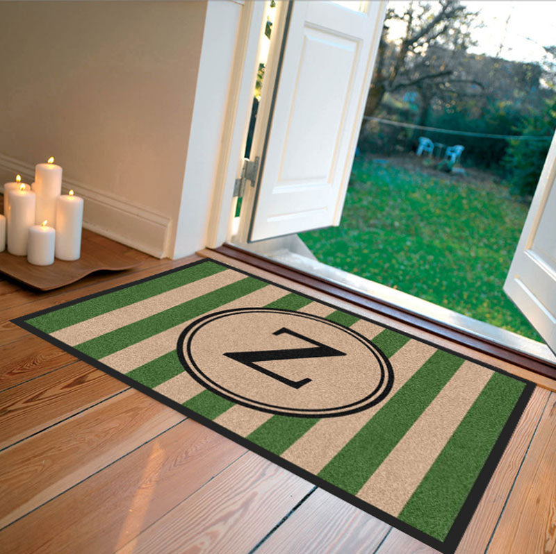 Farmhouse Doormat Green