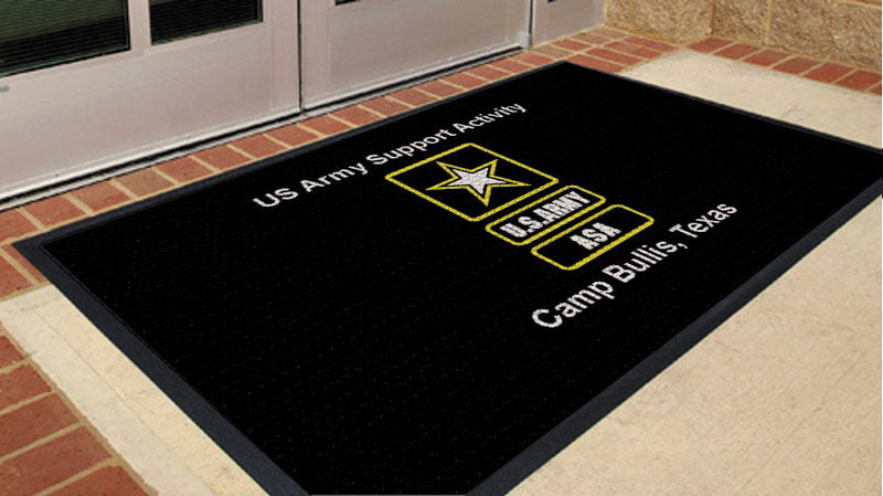 ASA Floor Mat 3 X 5 Rubber Scraper - The Personalized Doormats Company