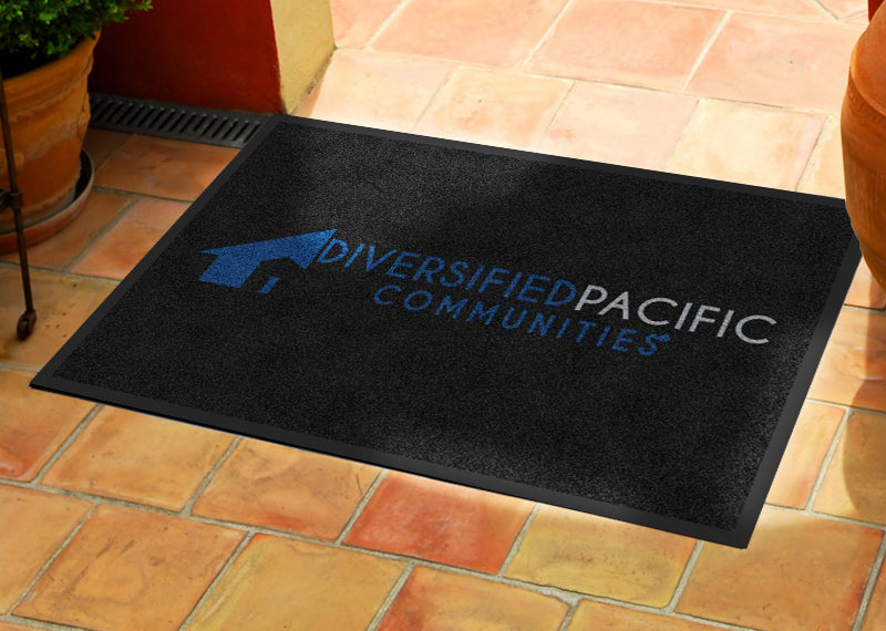 Diversified Pacific Communities 2 X 3 Rubber Backed Carpeted HD - The Personalized Doormats Company