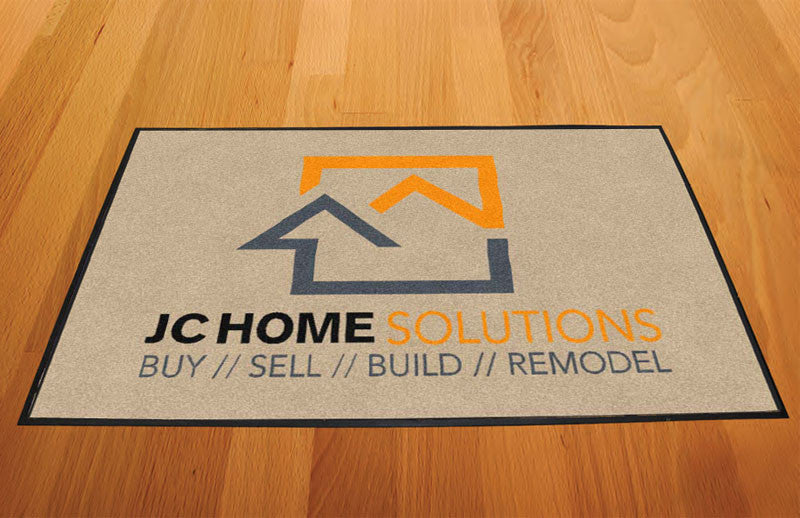JC Home Solutions 2 X 3 Rubber Backed Carpeted HD - The Personalized Doormats Company
