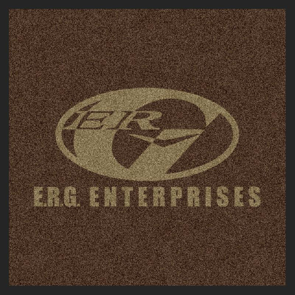 ERG Mat 2 X 2 Rubber Backed Carpeted HD - The Personalized Doormats Company