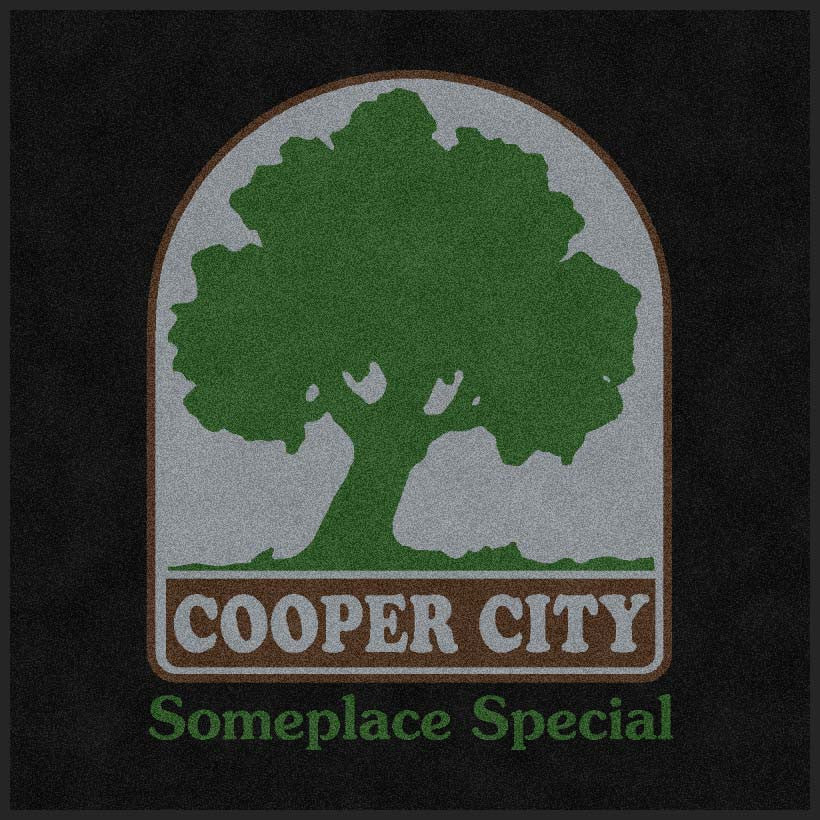 COOPER CITY RECREATION 4 X 4 Rubber Backed Carpeted HD - The Personalized Doormats Company