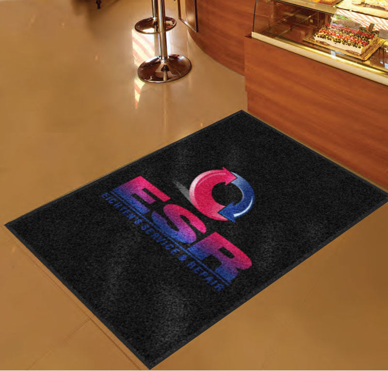 ESR 3 x 5 Rubber Backed Carpeted HD - The Personalized Doormats Company