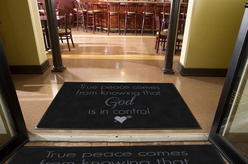 Church 4 X 6 Rubber Backed Carpeted HD - The Personalized Doormats Company