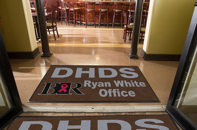 Division of Human Development and Servic 4 x 6 Rubber Backed Carpeted HD - The Personalized Doormats Company