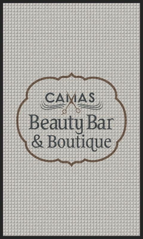 Camas beauty bar 3 X 5 Waterhog Impressions - The Personalized Doormats Company