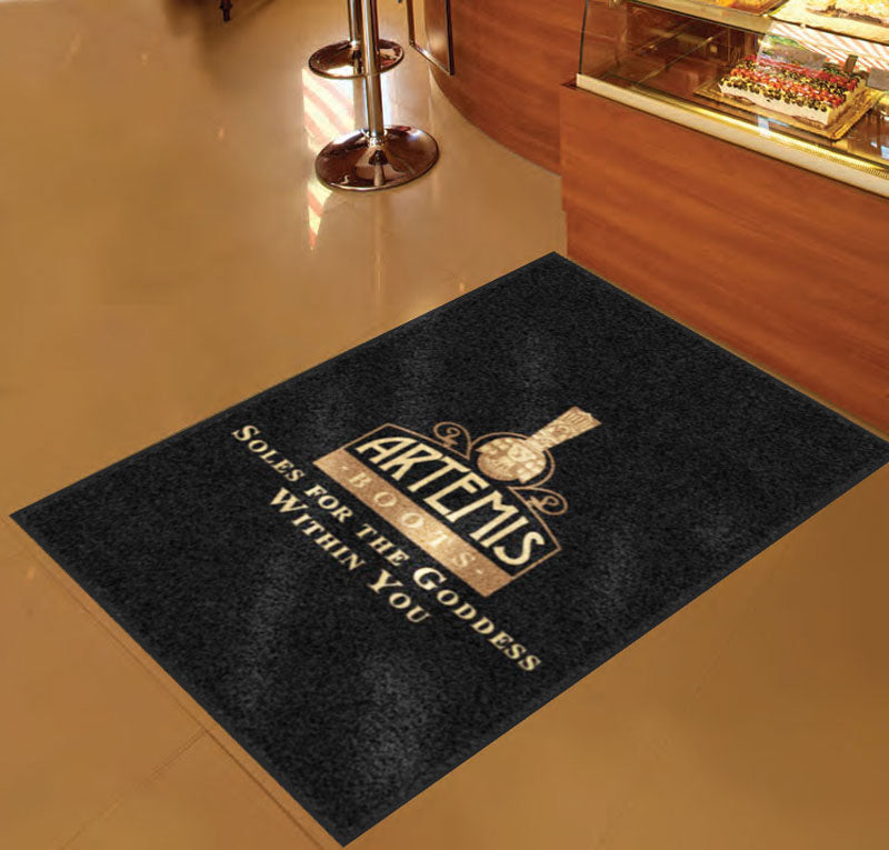 Artemis 3 X 5 Rubber Backed Carpeted HD - The Personalized Doormats Company