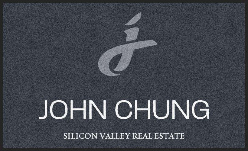 John Chung Realtor 3 X 5 Rubber Backed Carpeted HD - The Personalized Doormats Company