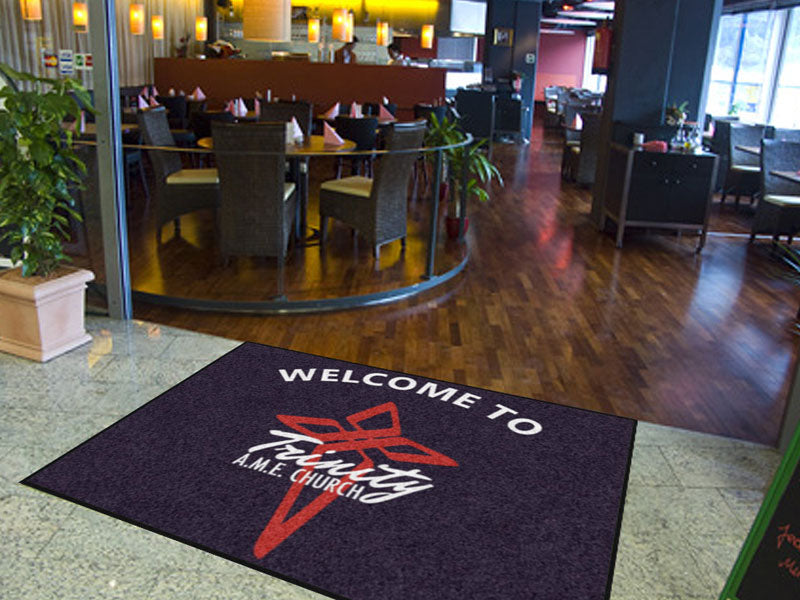 Diamond Cooper 6 X 8 Rubber Backed Carpeted HD - The Personalized Doormats Company