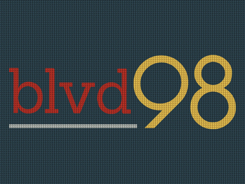 Blvd 98 6 x 8 Waterhog Inlay - The Personalized Doormats Company