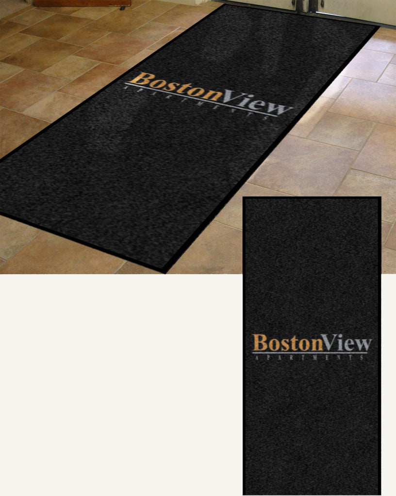 BV5 4.5 X 10 Rubber Backed Carpeted HD - The Personalized Doormats Company