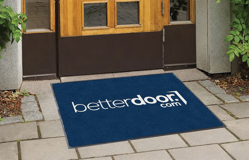 Brasco 2 x 3 Flocked Olefin 1 Color - The Personalized Doormats Company