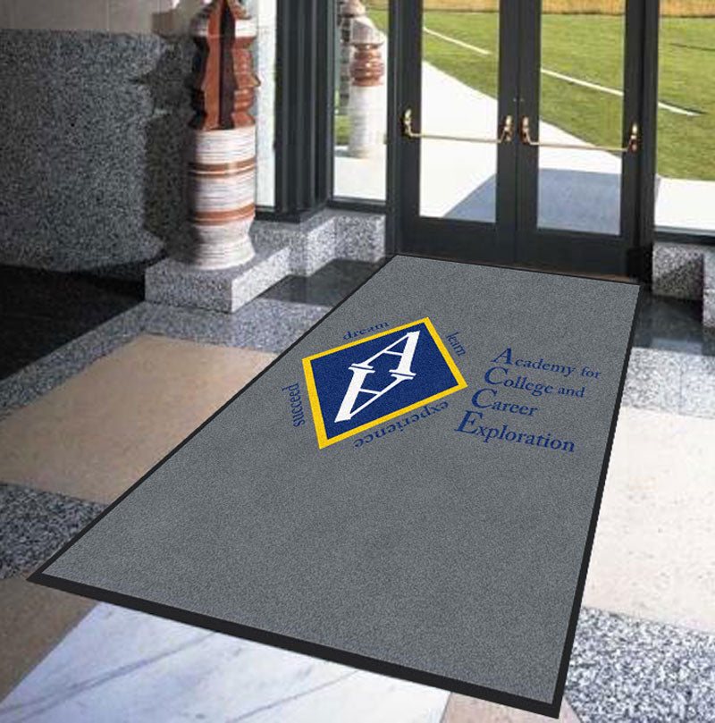ACCE 5 X 6 Rubber Backed Carpeted HD - The Personalized Doormats Company