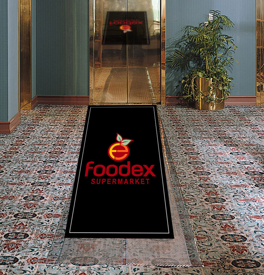 BtH 2 x 3 Rubber Backed Carpeted HD - The Personalized Doormats Company