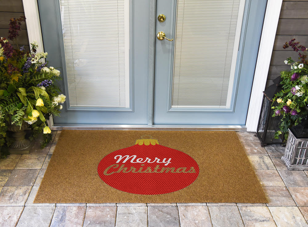 Christmas Ornament DuraColor Doormat