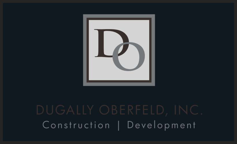 Dugally Oberfeld, Inc. 3 X 5 Floor Impression - The Personalized Doormats Company