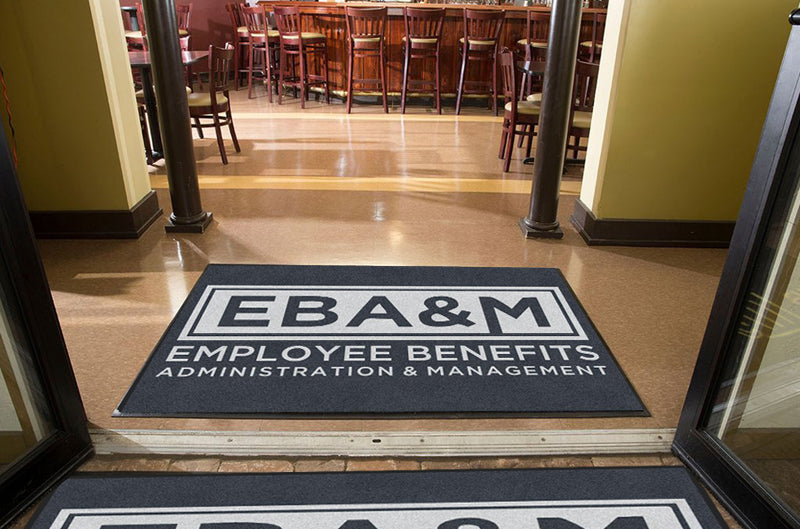 EBA&M 4 X 6 Rubber Backed Carpeted HD - The Personalized Doormats Company