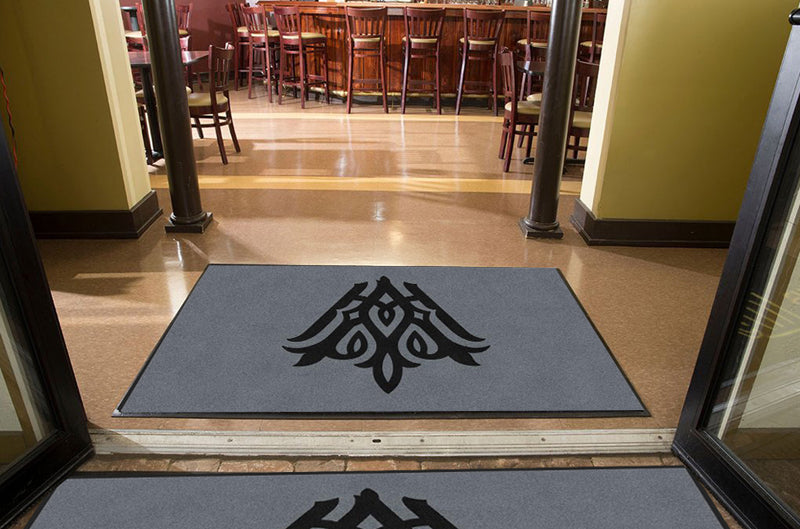 ConventionFront&ByHagood - Conference 4 X 7 Rubber Backed Carpeted HD - The Personalized Doormats Company