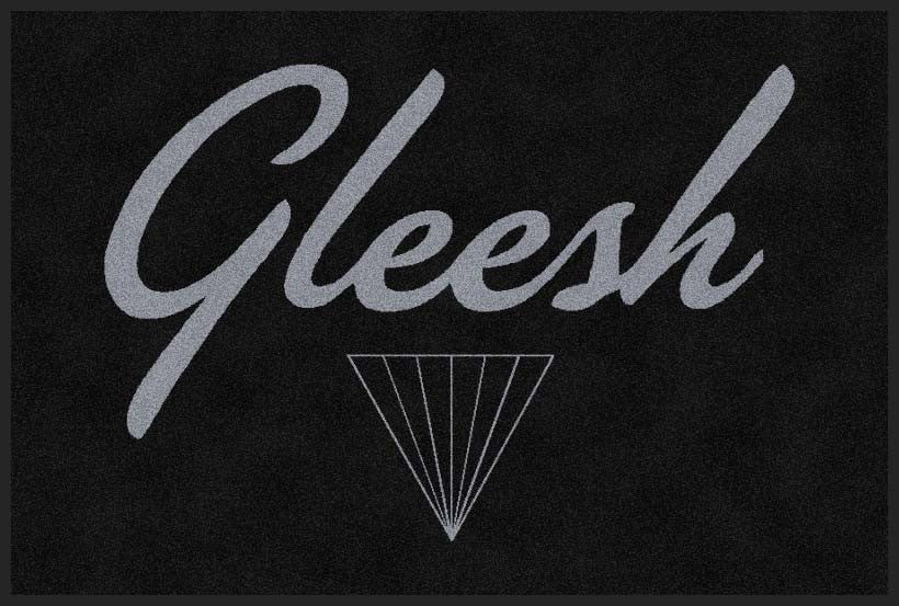 Gleesh Clothing 2 X 3 Rubber Backed Carpeted HD - The Personalized Doormats Company