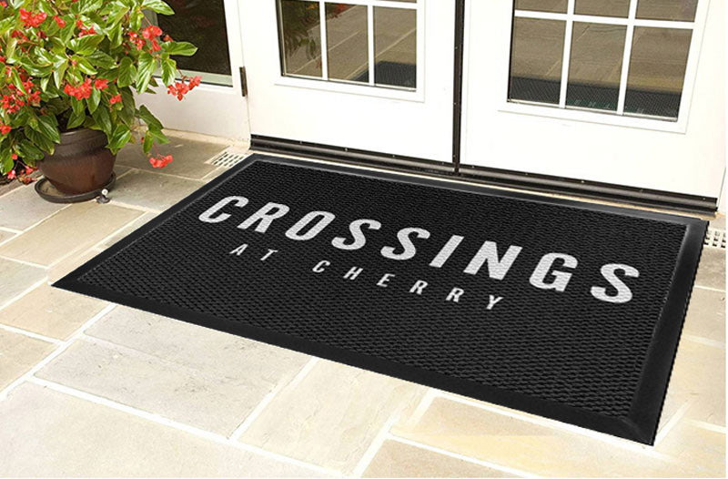 Crossings at Cherry 4 X 6 Luxury Berber Inlay - The Personalized Doormats Company