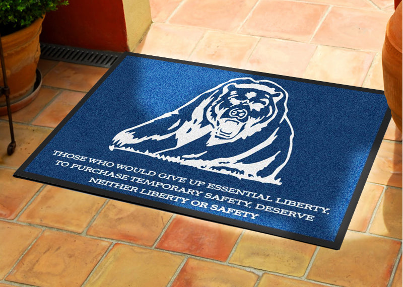 Grizzly 2 X 3 Rubber Backed Carpeted HD - The Personalized Doormats Company