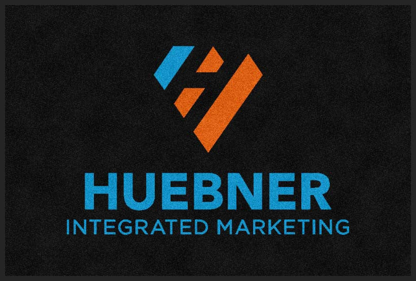 Huebner Marketing 2 X 3 Flocked Olefin 2 Color - The Personalized Doormats Company