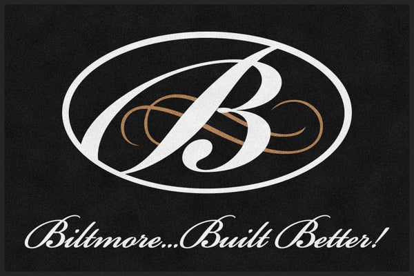 Biltmore Indoor § 4 X 6 Rubber Backed Carpeted HD - The Personalized Doormats Company