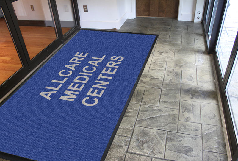 Allcare Medical Centers 6 x 12 Luxury Berber Inlay - The Personalized Doormats Company