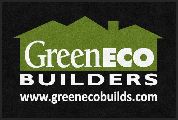 Greeneco Builders 2 X 3 Rubber Backed Carpeted HD - The Personalized Doormats Company