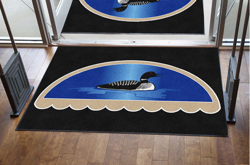 great northern awning 4 X 6 Rubber Backed Carpeted HD - The Personalized Doormats Company