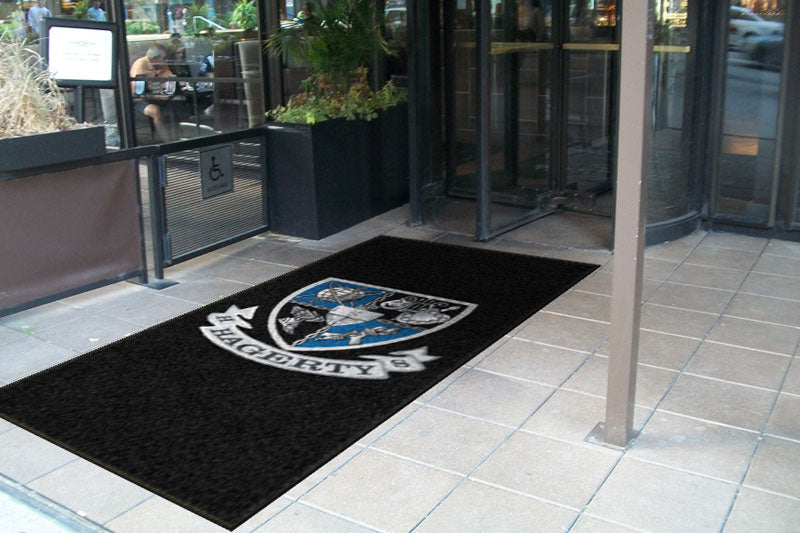 Hagerty High School 4 x 8 Rubber Backed Carpeted HD - The Personalized Doormats Company
