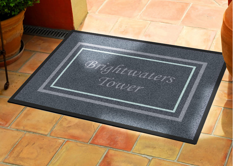 BWT 2 X 3 Rubber Backed Carpeted HD - The Personalized Doormats Company