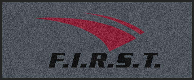 FIRST CALL FIRST 2 X 5 Rubber Backed Carpeted HD - The Personalized Doormats Company