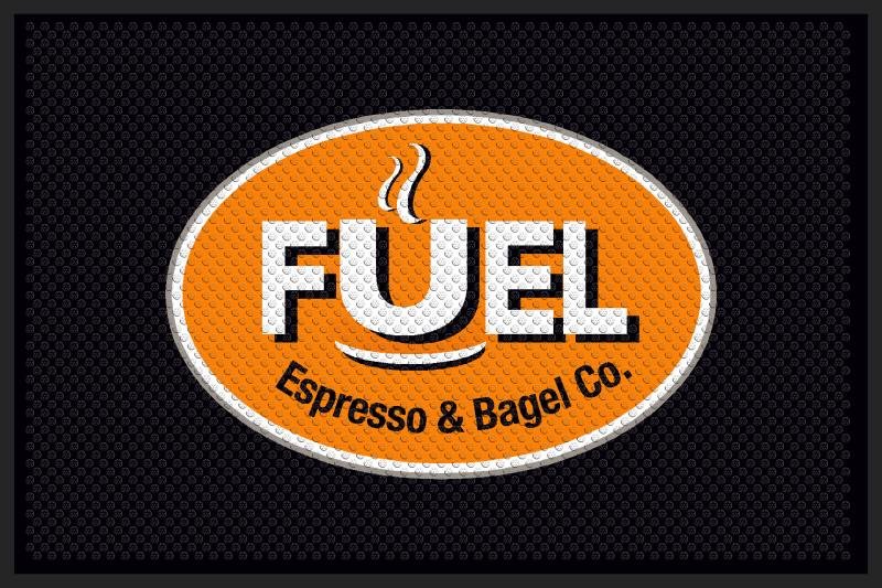 Fuel 53 4 X 6 Rubber Scraper - The Personalized Doormats Company