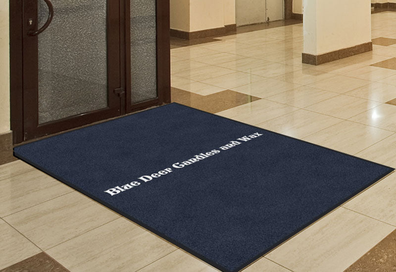 Benjamin Earnest 4 X 6 Rubber Backed Carpeted HD - The Personalized Doormats Company