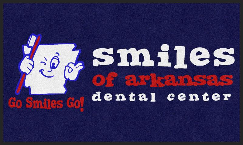 Smiles of Arkansas doormat