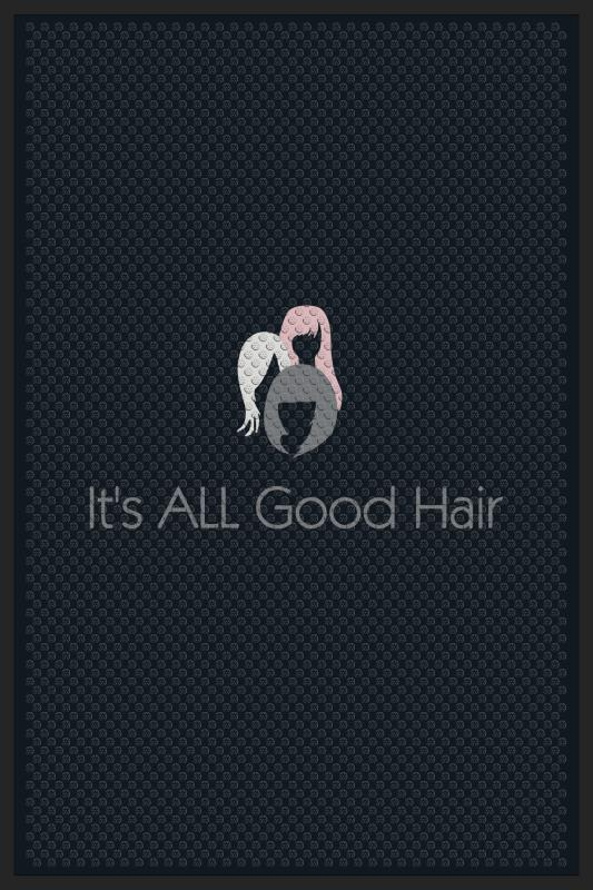 It's ALL Good Hair 4 X 6 Rubber Scraper - The Personalized Doormats Company