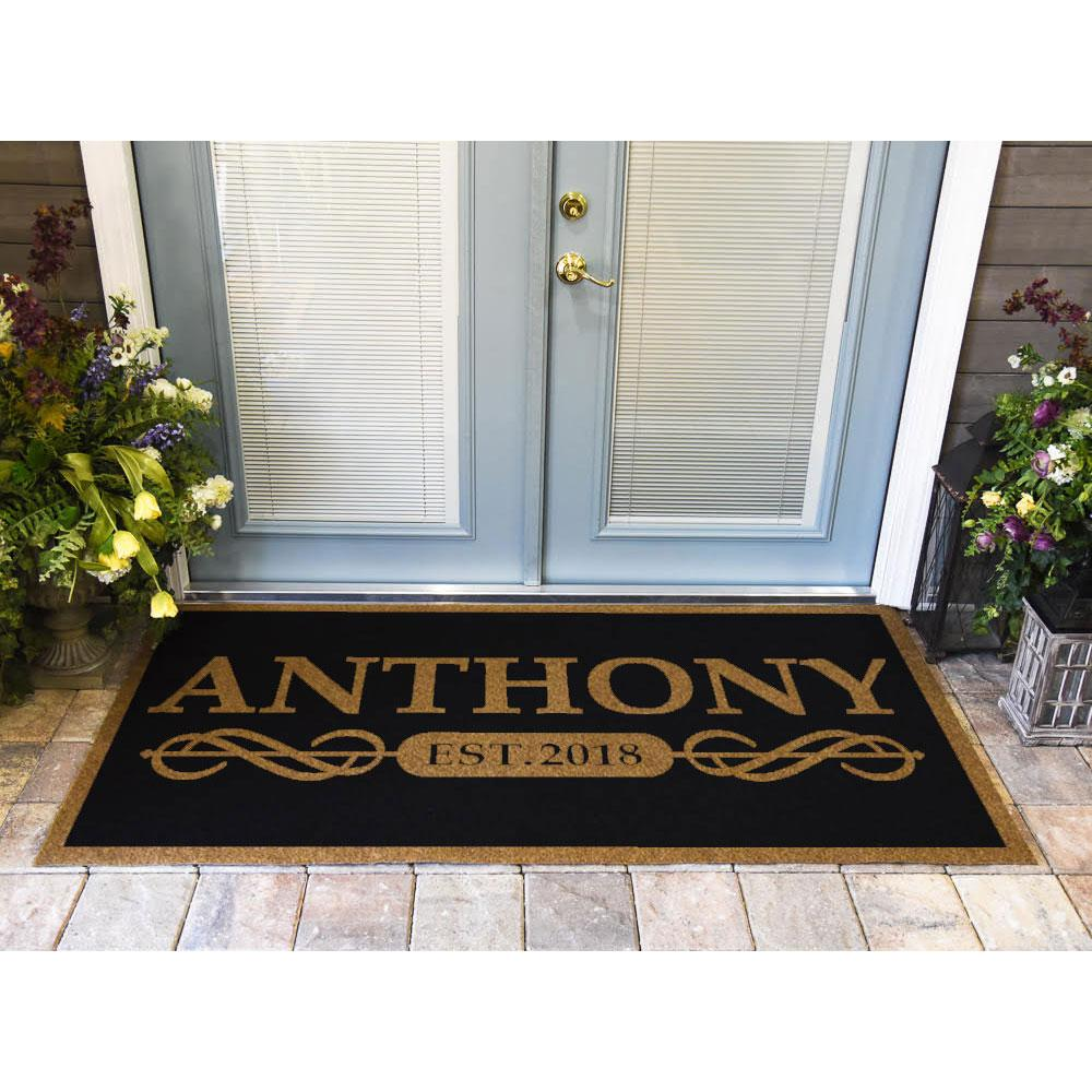 Duracoir Inlay Personalized | Established Date Duracoir Inlay | Doormats Direct