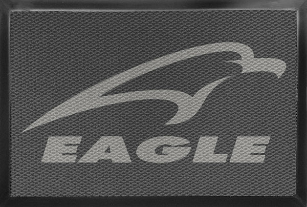 Eagle 4 X 6 Luxury Berber Inlay - The Personalized Doormats Company