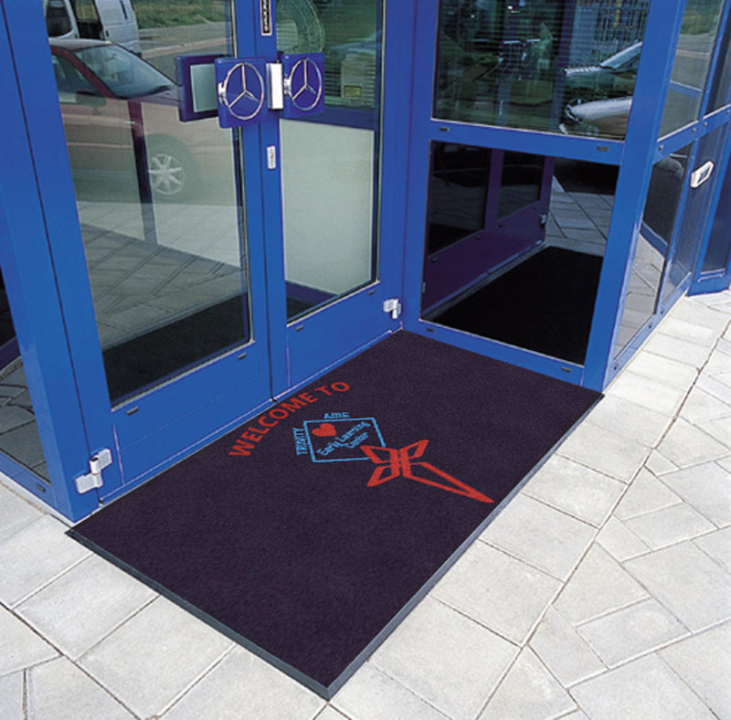Diamond Cooper 3 X 6 Rubber Backed Carpeted HD - The Personalized Doormats Company