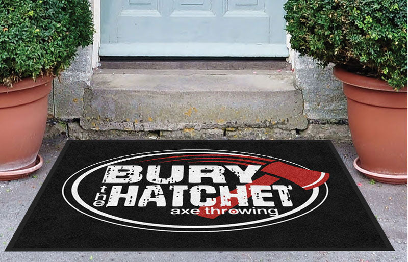 BtH 3 X 4 Rubber Backed Carpeted HD - The Personalized Doormats Company