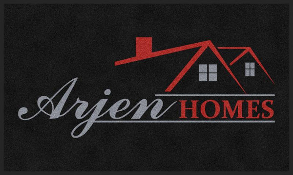 Arjen Homes Inside Door Mat 3 X 5 Rubber Backed Carpeted HD - The Personalized Doormats Company
