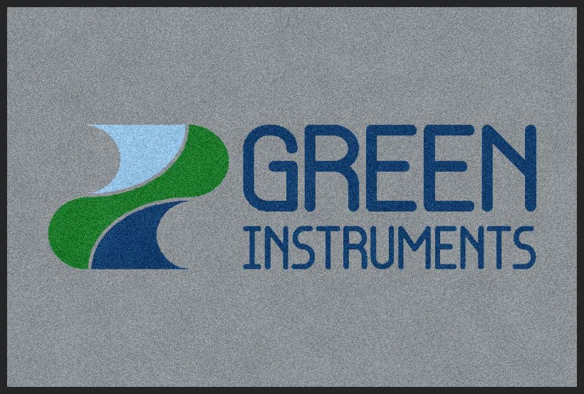 Green Instruments USA 2 X 3 Rubber Backed Carpeted HD - The Personalized Doormats Company