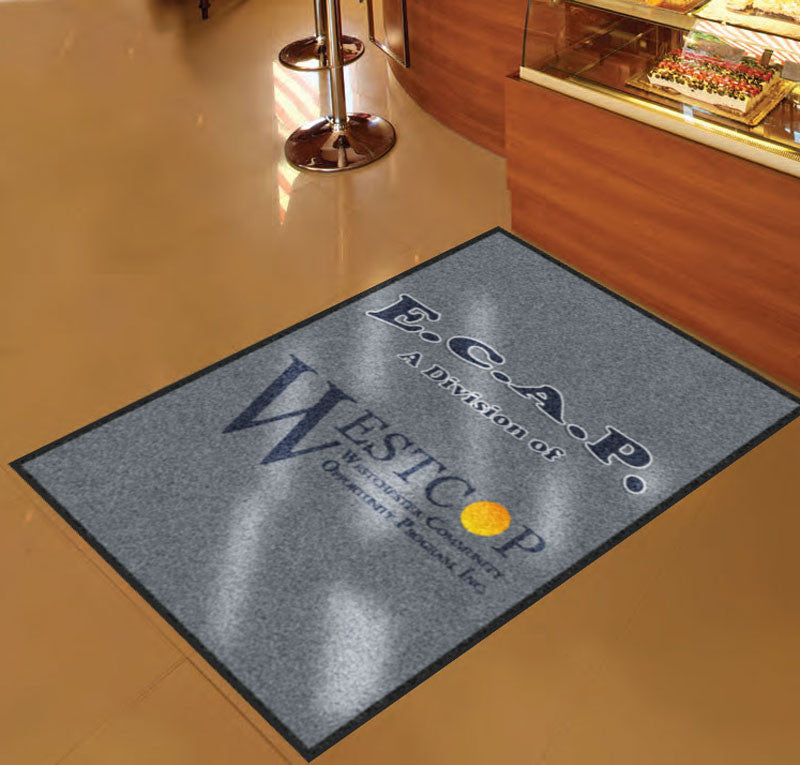 ECAP 3 X 5 Rubber Backed Carpeted HD - The Personalized Doormats Company