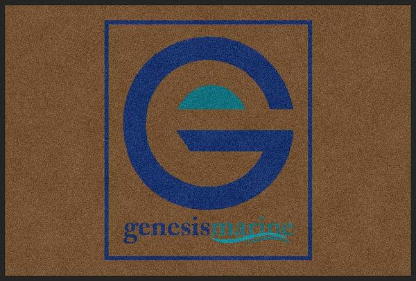 Genesis Marine 2 X 3 Rubber Backed Carpeted HD - The Personalized Doormats Company
