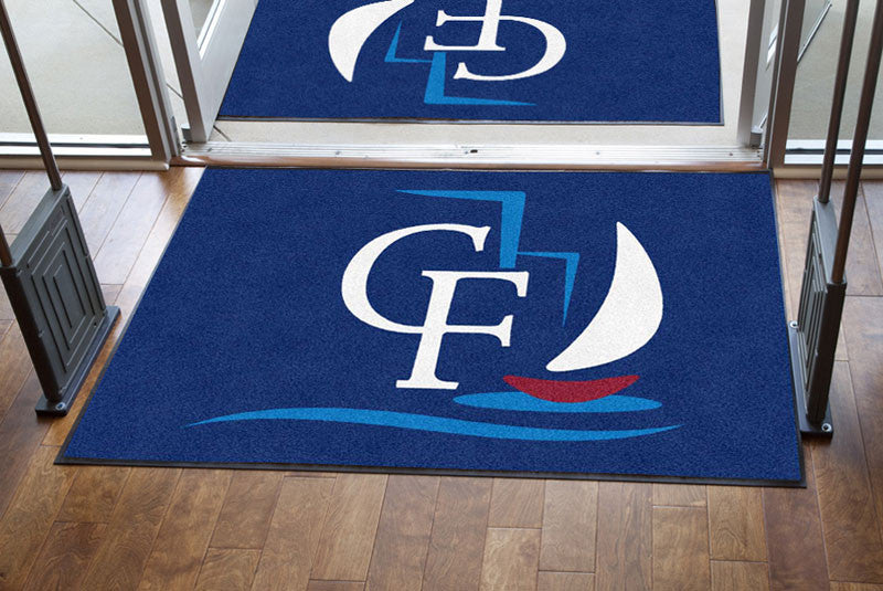 Campo Felice 4 X 6 Rubber Backed Carpeted HD - The Personalized Doormats Company