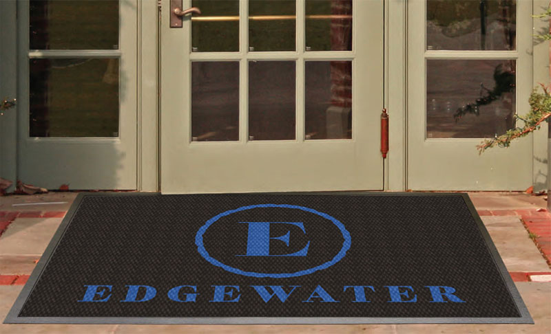 Edgewater - back door 3 X 5 Luxury Berber Inlay - The Personalized Doormats Company