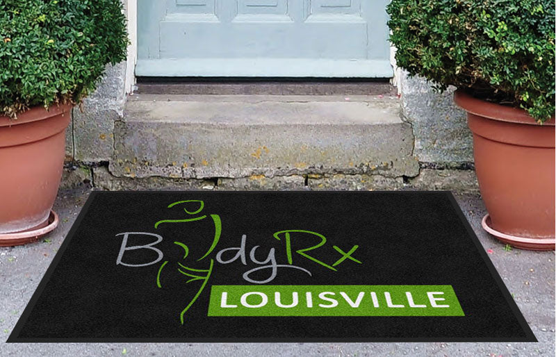 BodyRx 3 X 4 Rubber Backed Carpeted HD - The Personalized Doormats Company